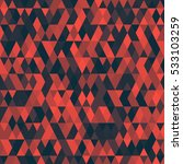 pattern with triangles .... | Shutterstock .eps vector #533103259