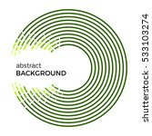 abstract vector illustration... | Shutterstock .eps vector #533103274