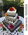 ornate multi tiered wedding... | Shutterstock . vector #53310526