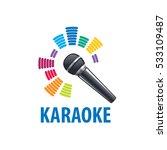 karaoke logo vector | Shutterstock .eps vector #533109487