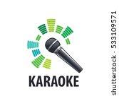 karaoke logo vector | Shutterstock .eps vector #533109571