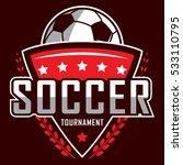 soccer logo  america logo ... | Shutterstock .eps vector #533110795