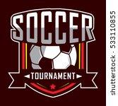 soccer logo  america logo ... | Shutterstock .eps vector #533110855