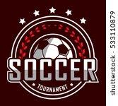 soccer logo  america logo ... | Shutterstock .eps vector #533110879