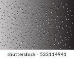 realistic rain drops on glass...