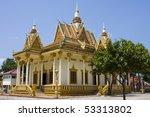 buddhist temple in sihanouk... | Shutterstock . vector #53313802