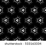 decorative wallpaper design in... | Shutterstock .eps vector #533163334