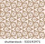 geometric shape abstract vector ... | Shutterstock .eps vector #533192971