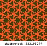 ornamental seamless pattern.... | Shutterstock .eps vector #533195299