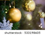 colorful christmas characters... | Shutterstock . vector #533198605
