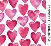 watercolor seamless pattern of... | Shutterstock . vector #533203129