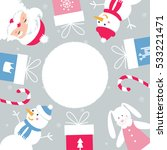 christmas and winter holidays... | Shutterstock .eps vector #533221471