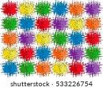 color splotches | Shutterstock . vector #533226754
