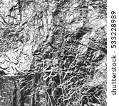 vector silver foil background... | Shutterstock .eps vector #533228989