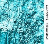 vector turquoise  foil... | Shutterstock .eps vector #533228995