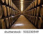 Barrels Wine Cellar Porto Portugal - Fine Art prints