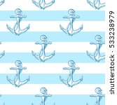 seamless vector pattern with... | Shutterstock .eps vector #533238979