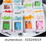 wedding gift for guest | Shutterstock . vector #533244019