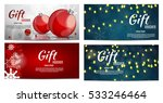 christmas and new year gift... | Shutterstock .eps vector #533246464