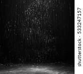 Water In The Dark  Rain At...