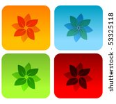 set of abstract icons and... | Shutterstock . vector #53325118