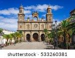 las palmas  canary islands  ... | Shutterstock . vector #533260381