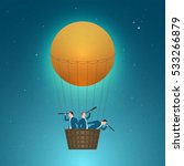 business concept vector... | Shutterstock .eps vector #533266879