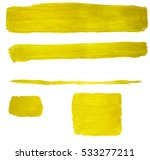watercolor color bright yellow... | Shutterstock . vector #533277211