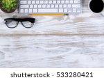 overhead view of a top border...   Shutterstock . vector #533280421