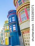 san francisco california... | Shutterstock . vector #533285371
