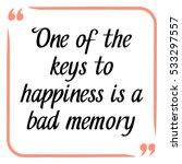 happiness quote. handwritten... | Shutterstock .eps vector #533297557