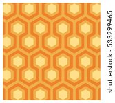 vector background of seventies... | Shutterstock .eps vector #533299465