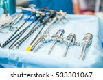 close up steralized surgical... | Shutterstock . vector #533301067