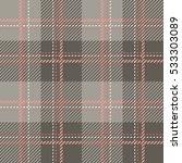 tartan seamless vector patterns ... | Shutterstock .eps vector #533303089