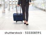 closeup legs of businessman... | Shutterstock . vector #533308591