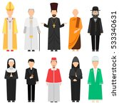 religion pious people... | Shutterstock .eps vector #533340631