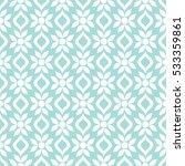 seamless ornamental pattern...   Shutterstock .eps vector #533359861
