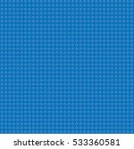 blue plastic construction block ... | Shutterstock . vector #533360581