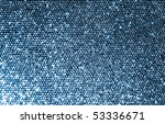 Silver Fabric Made Of A Grid O...