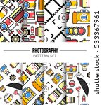 photography seamless patterns... | Shutterstock .eps vector #533367961