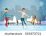 Winter Sports. Figures Skating...