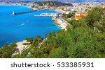 View Of Nice  Mediterranean...