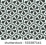 vector seamless pattern. modern ... | Shutterstock .eps vector #533387161