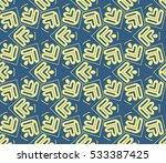 vector seamless pattern. modern ... | Shutterstock .eps vector #533387425