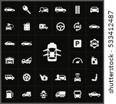 auto icons universal set for... | Shutterstock . vector #533412487