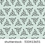 geometric shape abstract vector ... | Shutterstock .eps vector #533413651