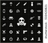 army icons universal set for... | Shutterstock . vector #533420821