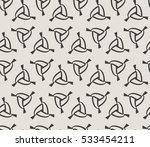 vector seamless pattern. modern ... | Shutterstock .eps vector #533454211