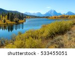 Beautiful View Of Oxbow Bend...