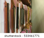 traditional filing cabinets... | Shutterstock . vector #533461771